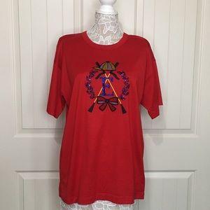 Escada Jewel Logo Crewneck Short-Sleeve T-Shirt